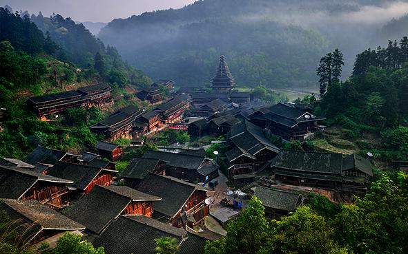 靖州县地笋苗寨